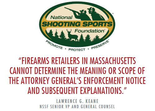 NSSF MA Statement - Naples Gun School - FFL - Gun Sales & Training